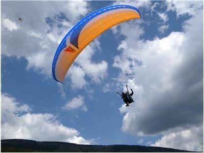 Obrázek Paragliding tandem - Slet z Černé hory - Krkonoše